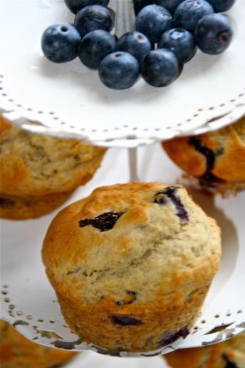 84. Blaubeer-Bananen Muffins