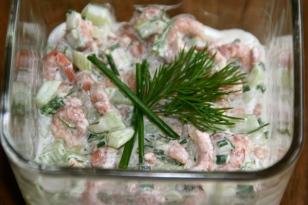85. Krabbensalat mit viel Grün