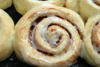 105. Cinnamon Rolls - Zimtschnecken amerikanisch
