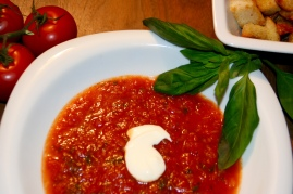 114. Tomatensuppe-trotz Winter