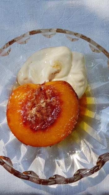 145. Gebackene Pfirsiche