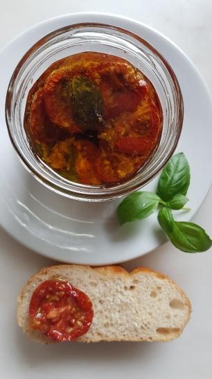 152.eingelegte,getrocknete Tomaten