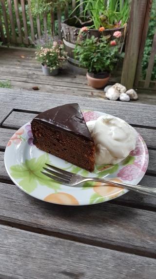 154.Schoko-Marillen-Torte